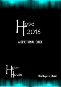thumbnail of Hope 2016 Devotional Guide with cover